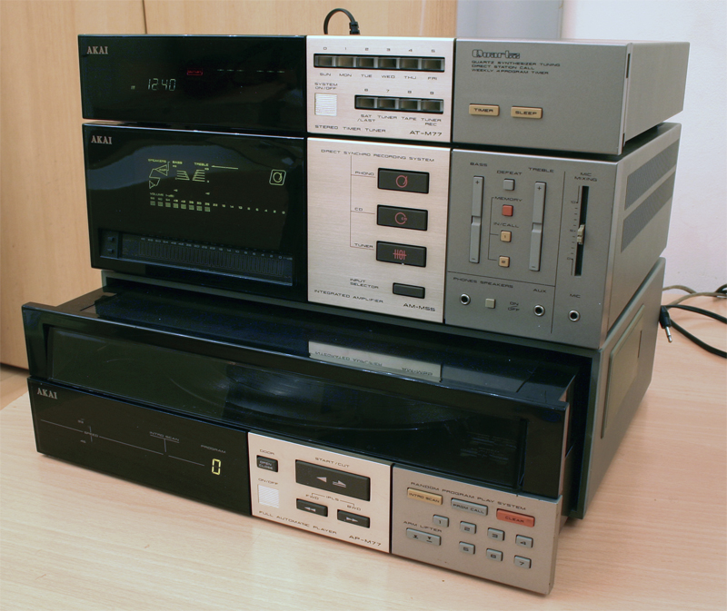 AKAI AT-M77, AKAI  AM-M55, AKAI AP-M77
