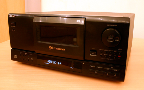 SONY CDP-CX153
